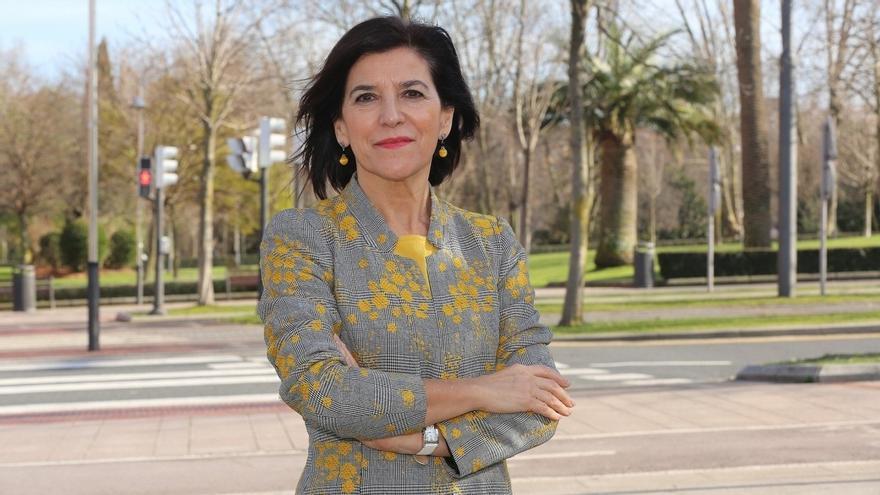 Archivo - La eurodiputada del PNV Izaskun Bilbao