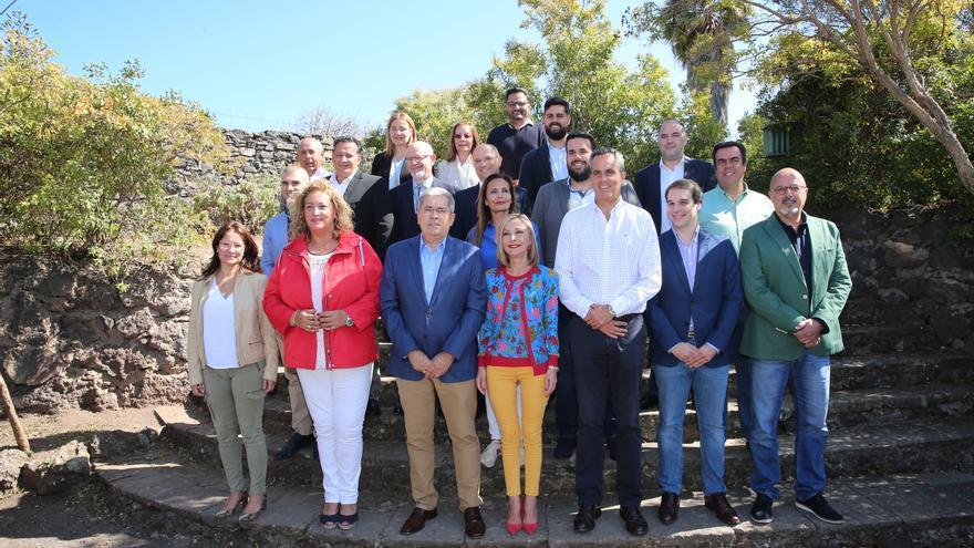 Presentación de la candidatura de Marco Aurelio Pérez (PP) al Cabildo de Gran Canaria. (Alejandro Ramos)