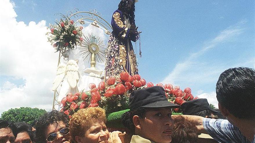 Rinden devoción al Jesús de Nazareno de Atalaya en Panamá
