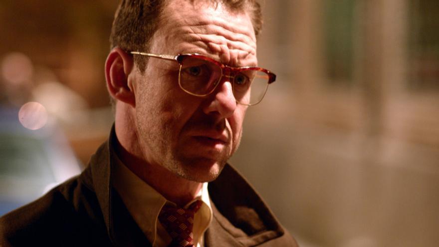 El inspector Miguel Barea, uno de los protagonistas de Grupo 2 Homicidios