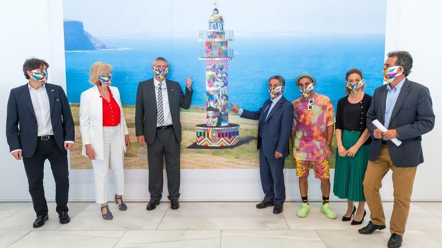 """Una charla tratará """"la instrumentalización de la cultura"""" por empresas e instituciones a raíz del proyecto de Okuda en el Faro de Ajo"""
