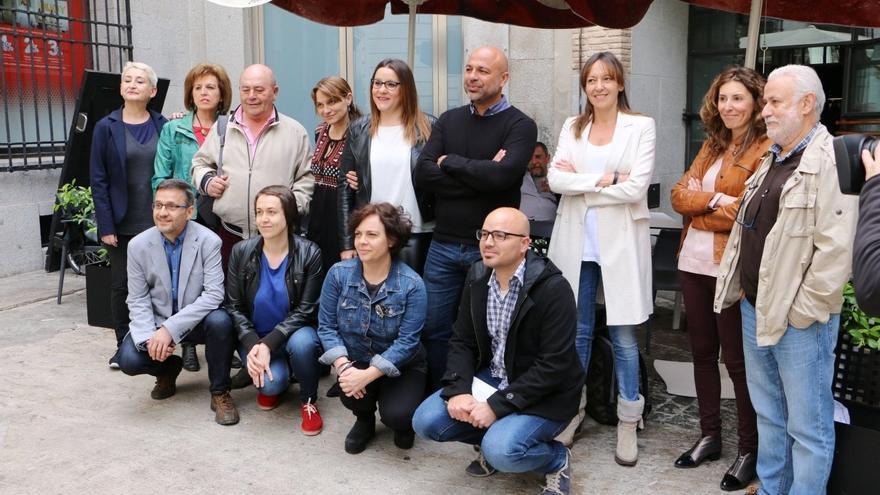 Presentación del 'Gobierno en la sombra' de Podemos Castilla-La Mancha