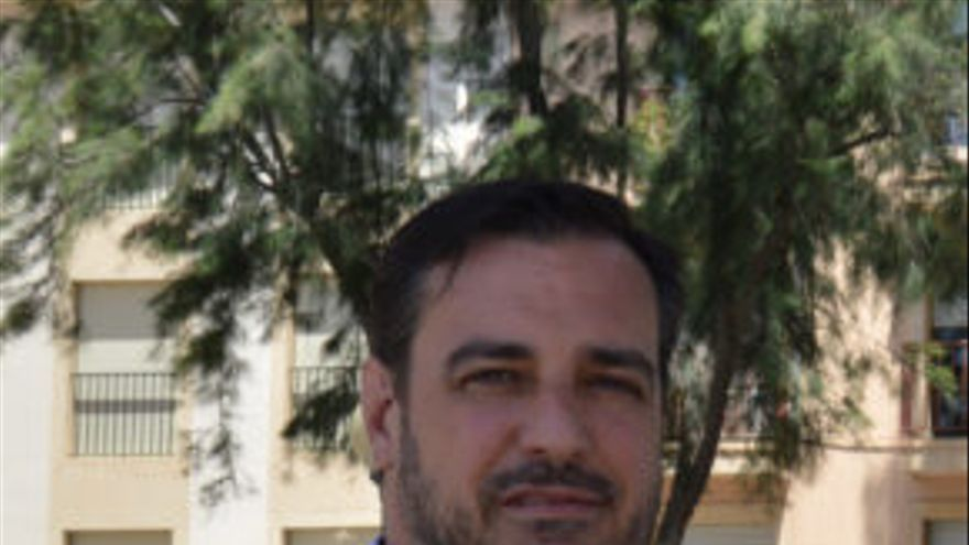 El portavoz de Ciudadanos en Orihuela,  Juan Ignacio López-Bas