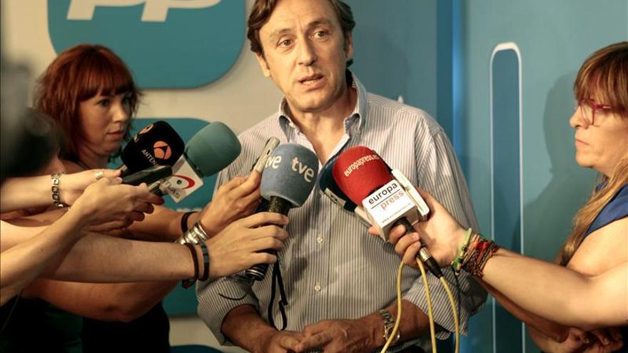 El portavoz adjunto del PP en el Congreso, Rafael Hernando