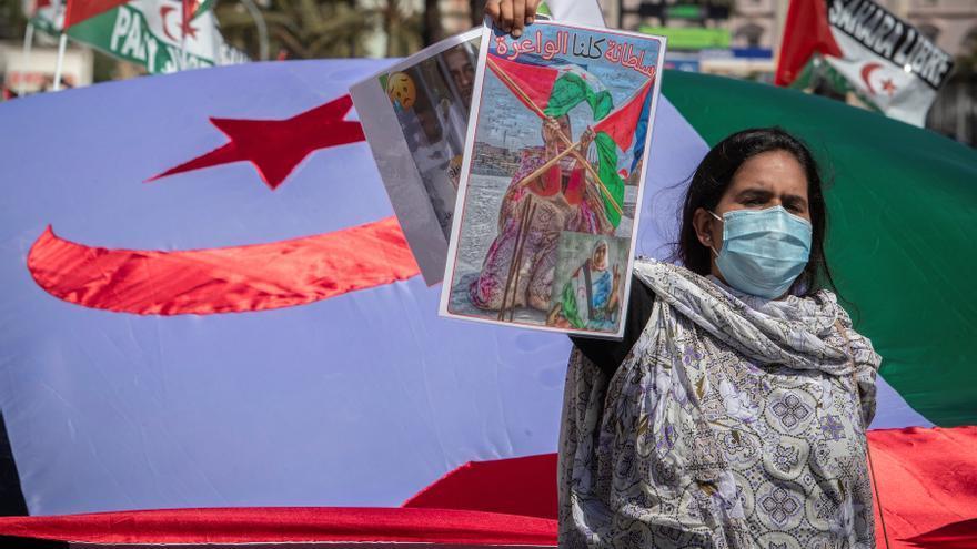 Arranca una marcha a Madrid para alzar la voz contra el olvido del pueblo saharaui