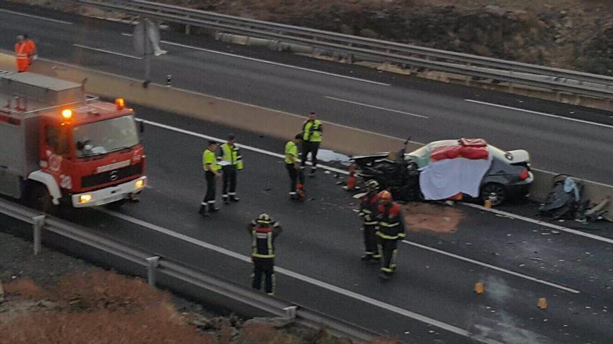 Accidente en Tenerife
