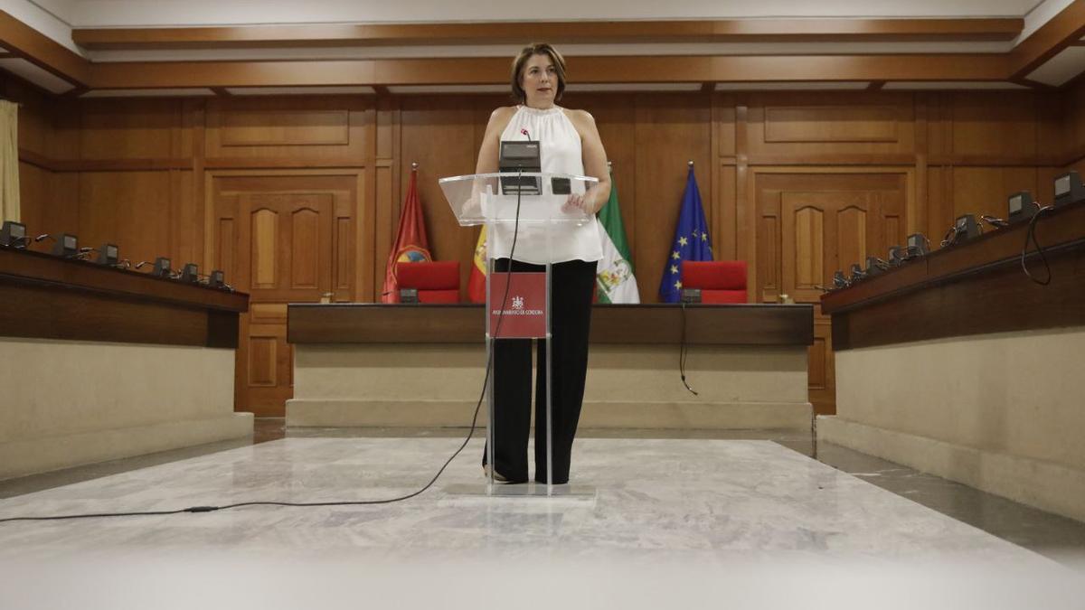 La delegada de Servicios Sociales, Eva Contador.