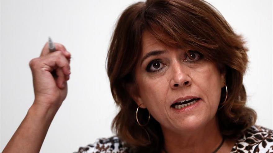 Delgado afirma que nadie va a impedir que ella y el Gobierno sigan trabajando