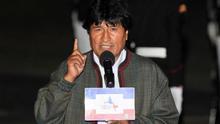 """Evo Morales ratifica que """"no es maligno"""" el nódulo descubierto en su garganta"""