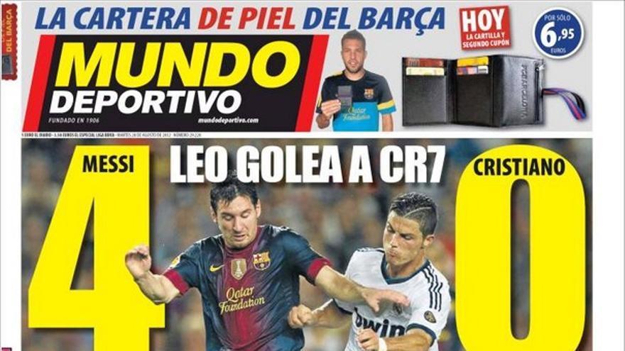 De las portadas del día (28/08/2012) #13