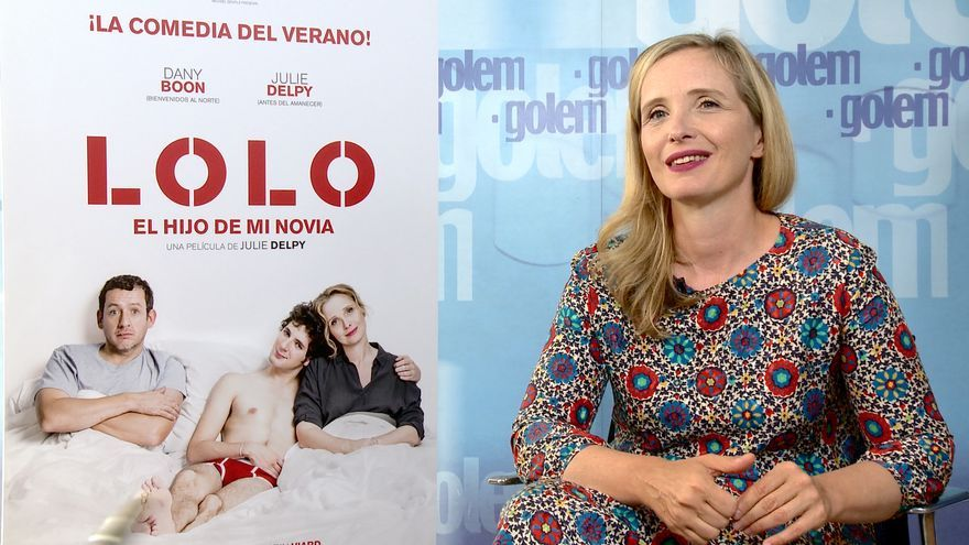 Julie Delpy presenta su última película, 'Lolo, el hijo de mi novia'