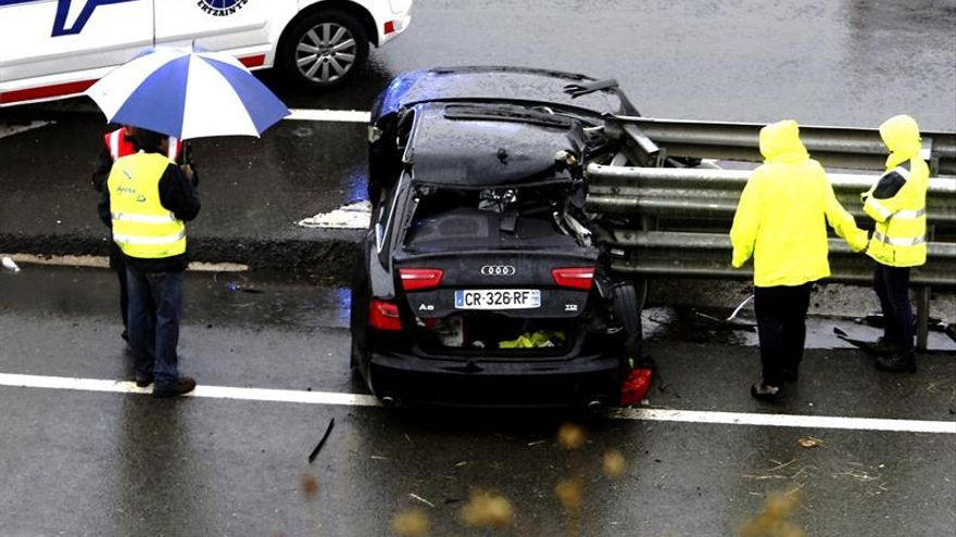 Fallecen dos hombres en un accidente de tráfico en la A-1, en Álava