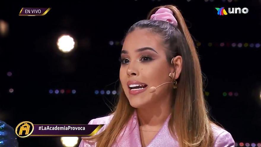 """Danna Paola ('Élite') responde a un concursante de 'La Academia': """"Es una falta de respeto insultar a una mujer"""""""