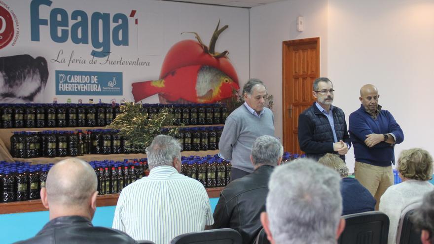El acto se ha celebrado en la Granja Experimental de  Pozo Negro y contó con la asistencia del presidente del Cabildo de Fuerteventura,  Marcial Morales, y el consejero de Agricultura, Ganadería y Pesca, Juan Estárico.