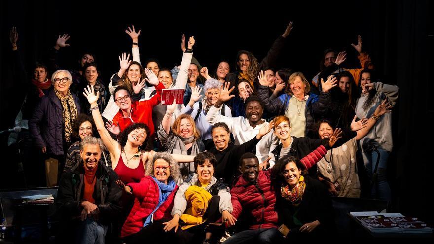 Participantes en las jornadas 'La voz de la mujer'.