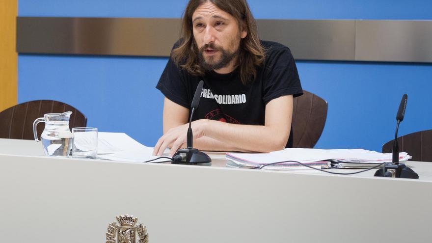 Pablo Híjar, concejal de Vivienda del Ayuntamiento de Zaragoza