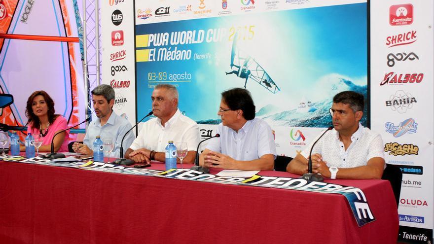 Presentación del Mundial de Windsurf que tendrá lugar en El Médano