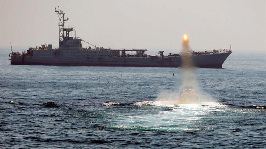 """Irán califica los disparos de un buque estadounidense de """"provocación"""""""