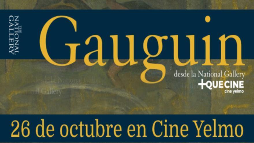 Consigue entradas de cine para 'Gauguin desde The National Gallery'