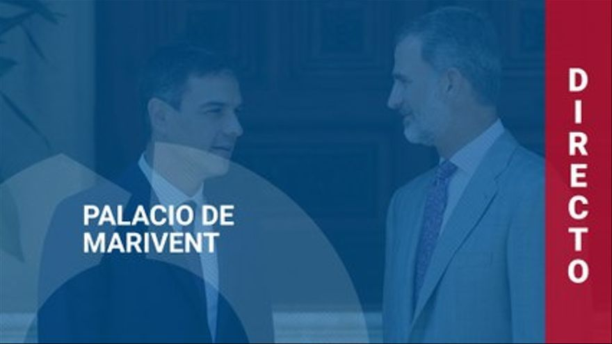 DIRECT |  Pedro Sánchez press conference after meeting with the king in Marivent