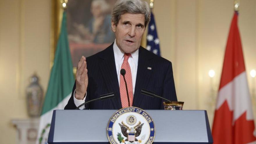 El secretario de Estado de EEUU viajó a Suiza para conferencia sobre Siria