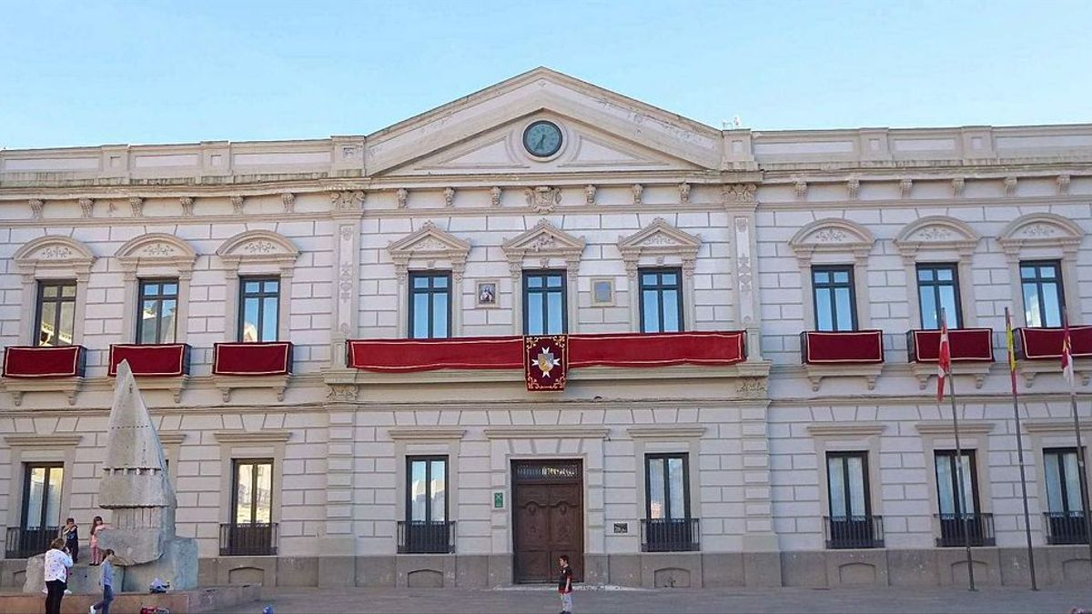 Ayuntamiento de Alcázar de San Juan, en Ciudad Real