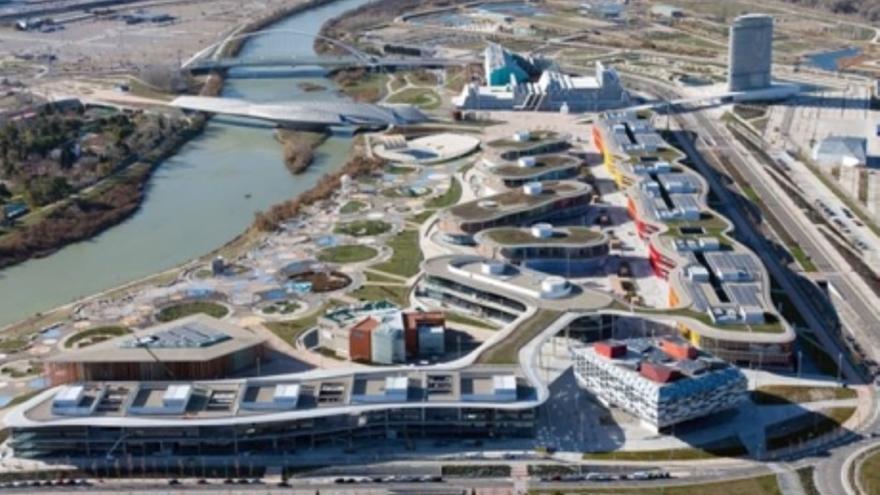 Alrededor de la mitad de los espacios del recinto de Ranillas sigue sin tener una utilidad concreta una década después de la Expo del agua