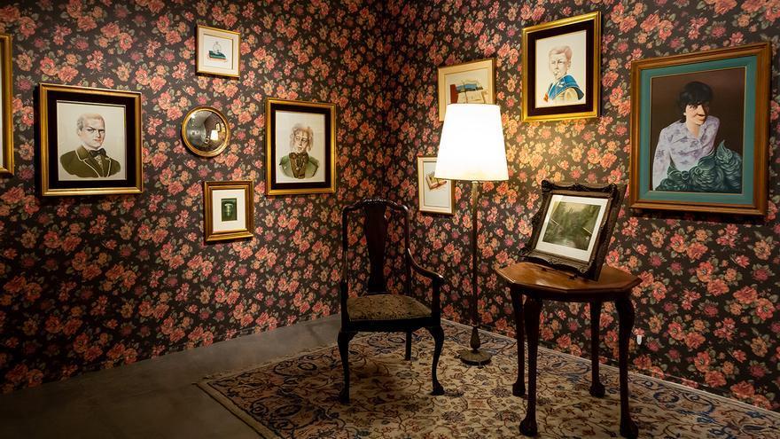 La obra de Mildred Burton fue expuesta en el Museo de Arte Moderno de Buenos Aires.