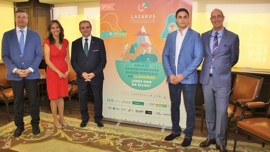 Presentación de la segunda edición del programa 'Lazarus'. / Foto: Caja Rural Castilla-La Mancha