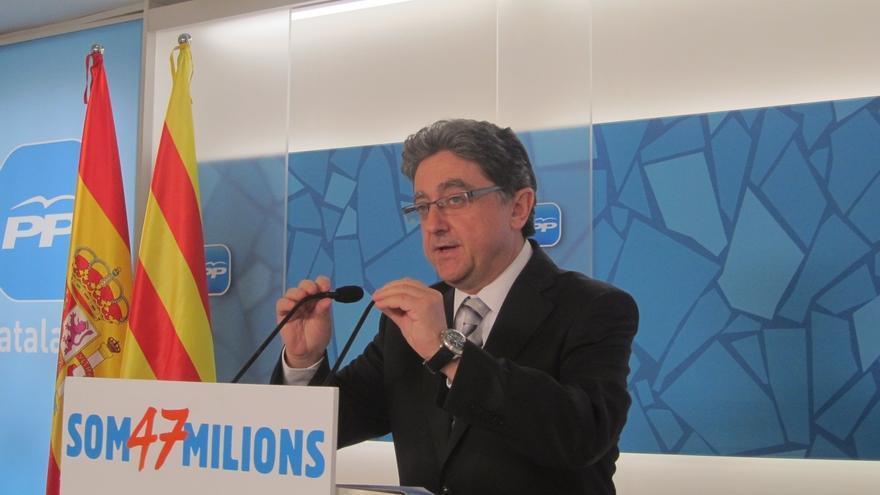 El PP catalán sostiene que una Cataluña independiente entraría en quiebra por la elevada deuda que tiene