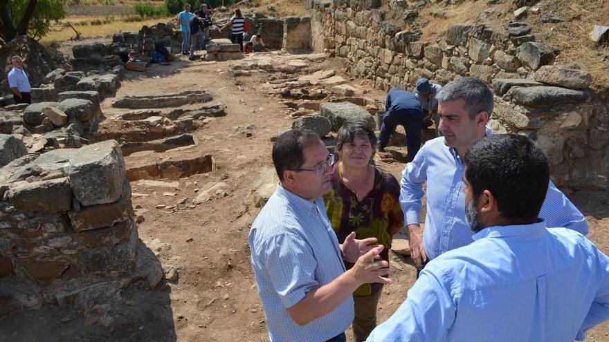 Descubierta una tumba del siglo VII de las 30 que tiene el yacimiento 'Los Hitos' en la pedanía toledana de Arisgotas
