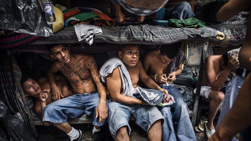 FOTOS  As son las crceles de El Salvador las peores de Amrica