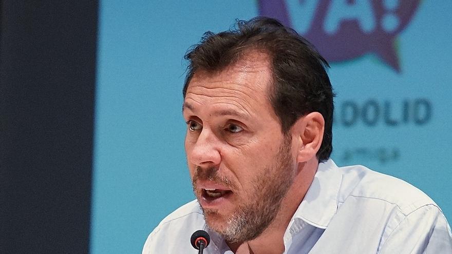El candidato del PSOE a la Alcaldía de Valladolid, Óscar Puente.