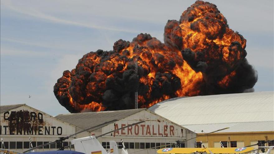 Fomento ordena la suspensión de las exhibiciones aéreas en Cuatro Vientos