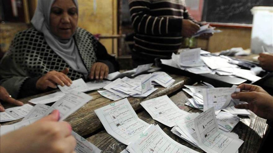 La participación en las elecciones parlamentarias de Egipto fue del 28,3 por ciento