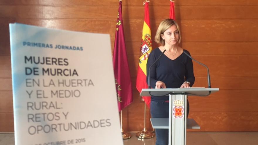 Conchita Ruiz Caballero explicó la implicación del Ayuntamiento de Murcia con el Día de la Mujer Rural