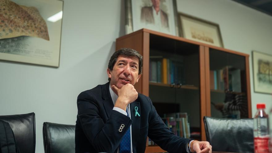 """Marín valora la """"oportunidad"""" de """"tumbar"""" el Gobierno """"puzle"""" de Sánchez y augura consecuencias para Andalucía"""