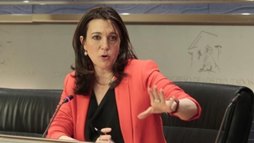 La Portavoz Del Grupo Socialista En El Congreso, Soraya Rodríguez