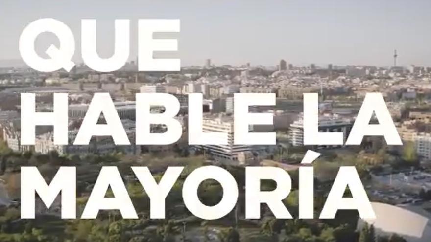 Imagen del videoclip de la canción de Ismael Serrano 'Un nuevo futuro' en apoyo a la candidatura de Unidas Podemos a las elecciones de la Comunidad de Madrid.