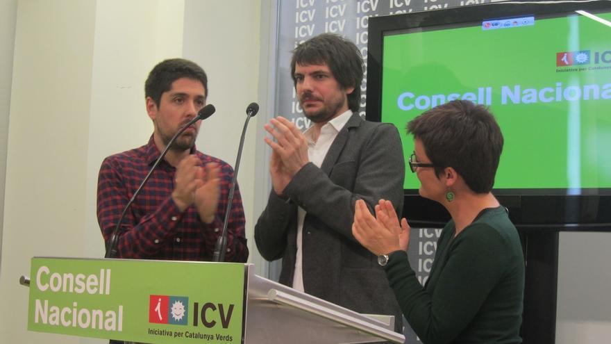 """La nueva dirección de ICV apuesta por """"una nueva hegemonía de izquierdas"""" para ganar en Cataluña"""