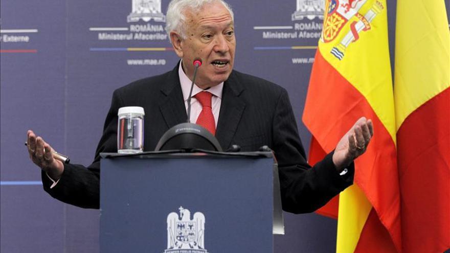 Margallo resalta la exclusión de extremistas en la reunión con la oposición siria