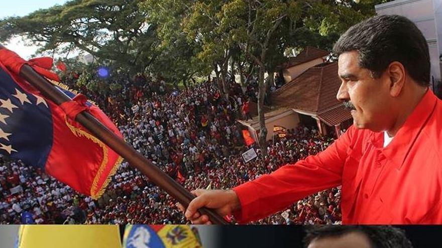 El líder opositor Juan Guaidó se autoproclama presidente de Venezuela con el beneplácito de EEUU