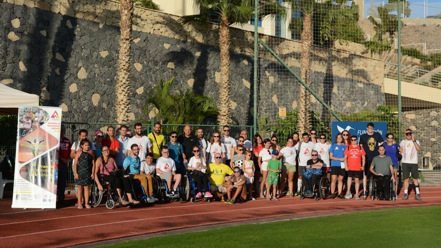 Algunos de los participantes en el I Campus Inclusive 'ConVive'