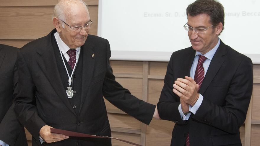 Romay Beccaría y Núñez Feijóo, juntos en un acto
