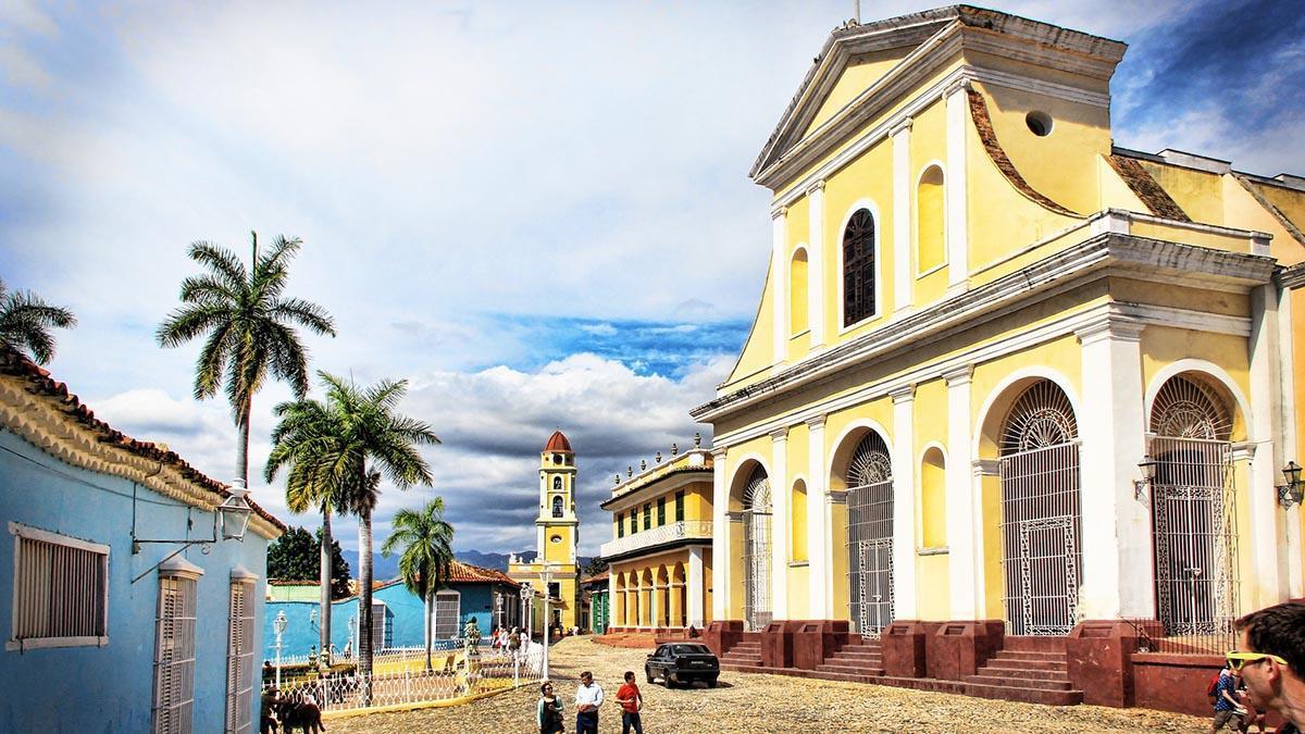 La Iglesia Mayor de la Santísima Trinidad, reconstruida en 1892.