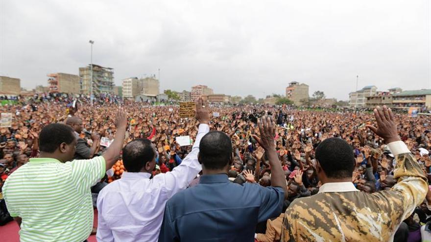 """La oposición keniana no se presentará a unas elecciones """"organizadas por ladrones"""""""