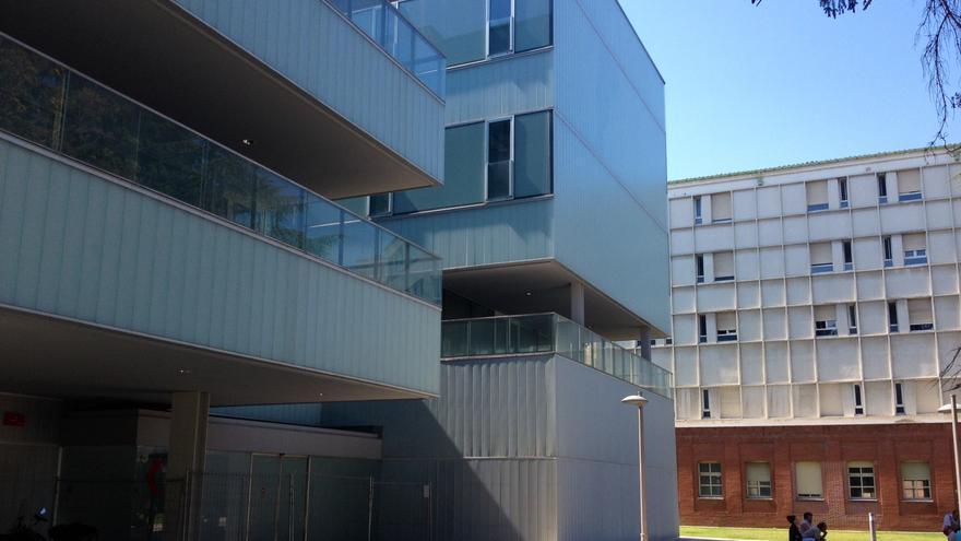 El nuevo edificio de Urgencias, situado junto al Hospital de Navarra.