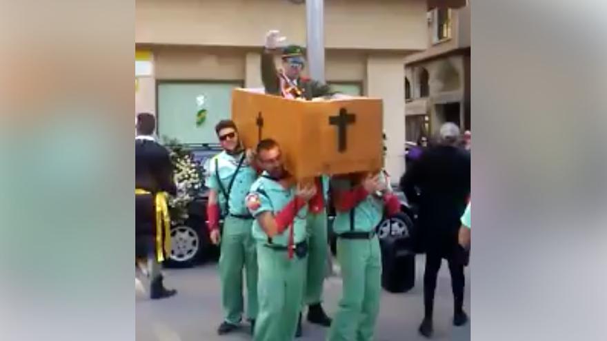 La exhumación de Franco en los carnavales de Jumilla