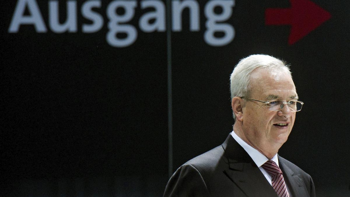 El expresidente de Volkswagen, Martin Winterkorn.