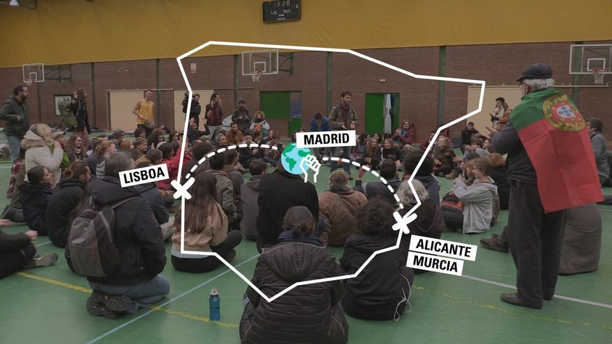 Rumbo a la Marcha Mundial por el Clima: desde Lisboa, Murcia y Alicante